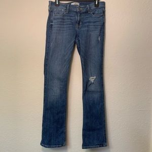 Hollister Blue Jeans Great Condition Size-7Short